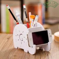 多功能笔筒创意时尚韩国小清新学生可爱卡通儿童桌面小收纳盒办公用品