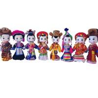 木偶娃娃 摆件佳品 云南香格里拉藏族特色*纯手工艺礼盒包装一个装