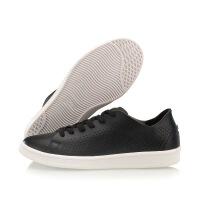 李宁女鞋休闲鞋2018LN Eternity休闲滑板鞋小白鞋黑色运动鞋
