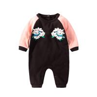 婴儿童连体衣服0岁3个月女宝宝新生儿秋冬装冬季可爱哈衣秋季秋装