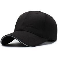 户外帽子男士时尚防晒太阳鸭舌帽韩版潮百搭户外休闲黑色遮阳帽棒球帽