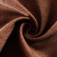 遮光窗帘成品定制棉麻简约现代亚麻北欧客厅卧室新品
