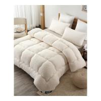冬季被子加厚保暖羊羔绒被芯秋冬被褥学生宿舍单人冬被空调春秋被. 白色 羊羔绒被芯