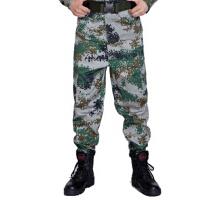 户外特种兵作训服学生军训丛林海洋迷彩长裤加厚耐磨海洋迷彩裤子劳保裤子迷彩作战户