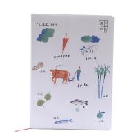 【下单领3元无门槛券】创意学习办公文具 遇见鹿/那些味儿皮套本 卡通可爱学生笔记本记事本 创意笔记本本子 多款可选