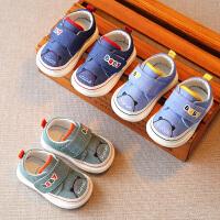 春秋婴儿学步鞋男宝宝单鞋软底儿童机能鞋1-3岁