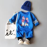 童装男宝宝秋装套装0-1-2-3-4岁婴幼儿外出服