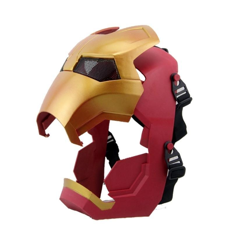 灭霸面具cos无限手套复仇者联盟3头套手办蜘蛛侠灭霸手套发光SN8318