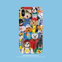 华为P20pro全包创意苹果7p/X手机壳iPhone6s/8plus/XS MAX潮牌XR6
