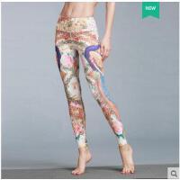 高腰紧身运动长裤女显瘦高弹力速干健身裤训练瑜伽提臀裤