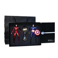 美国队长3复仇者联盟2钢铁侠模型人偶公仔板版 礼盒包装