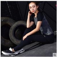瑜伽服套装显瘦宽松健身房跑步三件套瑜伽服套装女长袖健身服速干套装支持礼品卡支付