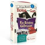 顺丰发货 I Can Read阶段Splat the Cat: Big Reading Collection 小猫雷弟
