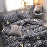 床上四件套单双人被套床单学生三件套床上用品新品套件