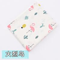 纯棉布料宝宝儿童棉布被套斜纹印花床品面料卡通婴儿床单
