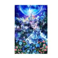 星空下的灰姑娘木质5000拼图1000片卡通动漫玩具礼物
