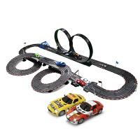 儿童电动遥控赛车跑道风火轮汽车套装轨道赛车玩具