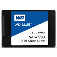 【支持当当礼卡】WD西部数据1TB SSD固态硬盘 SATA3.0接口笔记本台式机电脑高速硬盘 Blue系列-3D进阶高