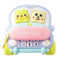 儿童早教玩具电话机科学感温多功能小汽车仿真音乐婴儿1-3岁小孩宝宝玩男女孩玩具礼物