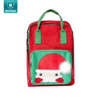 杯具熊书包儿童可爱圣诞人宝宝幼儿园男女童书包小孩双肩