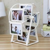 创意DIY手工定制照片风车旋转相框摆台相册结婚摆件教师节送老师
