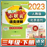 黄冈小状元语文详解三年级/3年级人教版RJ字词句段篇语文下册2021春