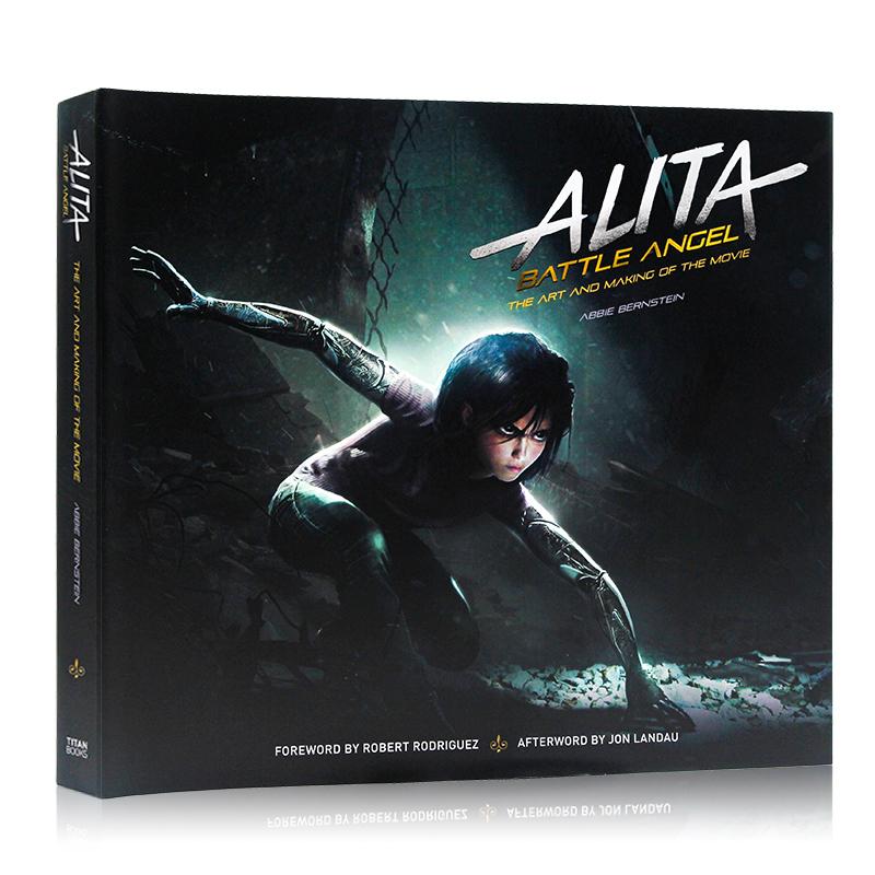 阿丽塔 战斗天使 铳梦 电影艺术画册设定集 Alita: Battle Angel Art and Making of the Movie 英文原版进口 卡梅隆科幻力作 精装 精致高清,重现电影原景,原画分解+场景剖析+细节清晰!从书中静态的细节可以进一步地了解影片,更能从一稿一线中体验到《阿凡达》团队的特效打造。各位还在等什么呢?来看看电影幕后的制作花絮吧!