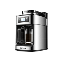 柏翠 (petrus) 咖啡�C家用全自�用朗降温┦侥ザ寡心ヒ惑w�C小型煮咖啡��PE3200
