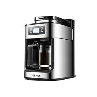 柏翠 (petrus) 咖啡机家用全自动美式滴漏式磨豆研磨一体机小型煮咖啡壶PE3200