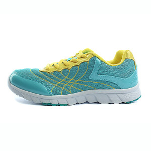 沃特休闲跑鞋时尚网布慢跑鞋女轻便透气防滑耐磨运动鞋正品