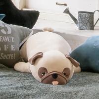 巴哥犬毛绒玩具可爱八哥犬公仔娃娃抱枕玩偶生日礼物女生