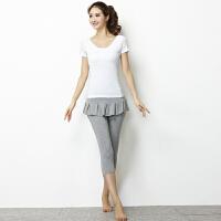 新款瑜伽服三件套女士瑜珈服套装愈加服舞蹈服健身服