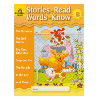 Evan-Moor Stories To Read Words to Know Level B 加州教辅 阅读学词汇系