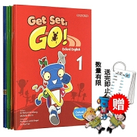Get Set Go Book 123456级别 香港牛津幼儿英语启蒙教材 学生用书6册 牛津大学出版社gsg 3-6岁