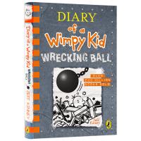 英文原版漫画小说 Diary of a Wimpy Kid Wrecking Ball 小屁孩日记14 精装进口儿童英语