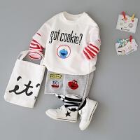 童装婴儿春装套装0-1-2-3-4岁男童衣服装婴幼儿
