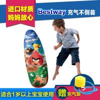 20180405141008294愤怒的小鸟游泳圈救生圈 游泳戏水充气沙滩玩具
