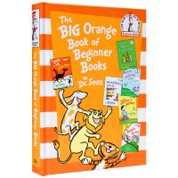 苏斯博士5个故事合集 英文原版绘本 The Big Orange Book of Beginner Books 苏斯博士