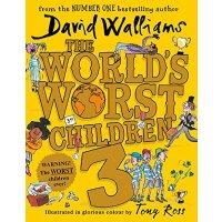 【现货】英文原版 大卫・少年幽默小说:世界上最差劲的小孩3 全彩精装 (10故事) The World's Worst