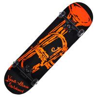 双翘滑板专业枫木四轮滑板 儿童代步刷街公路双翘滑板车 大号