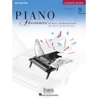 【预售】英文原版 菲伯尔钢琴乐谱:2A级课程 Piano Adventures: Level 2A: Lesson Bo