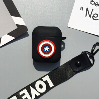 AirPods保护套防丢苹果iphone无线蓝牙耳机壳潮牌超人蝙蝠侠