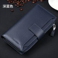 真皮钱包长款男士钱包韩版男钱包潮大容量男手包