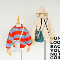 日系儿童手提包 单肩斜挎包 学院风男童零钱包女童包包时尚潮亲子