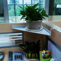 办公室花卉/绿植盆栽置物架办公桌面卡座三角花架阳台悬挂花盆架 小