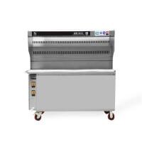 无烟烧烤车商用不锈钢大型木炭烧烤油烟净化器烤架无烟净化烧烤车