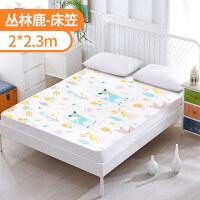 婴儿隔尿垫超大号防水透气床垫儿童宝宝可洗老棉床罩床单床笠 i7c