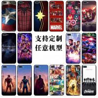 华为荣耀v10手机壳7x 7c复仇者联盟v9play钢铁侠v8漫威蜘蛛侠v20