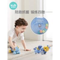 KUB可优比惯性压力毛毛虫婴幼儿宝宝玩具1-2周岁益智早教学爬玩具