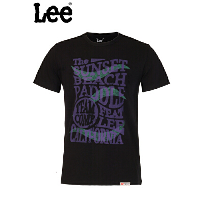 Lee 【断码】圆领印花字母图案男短袖T恤LMY032J06K99